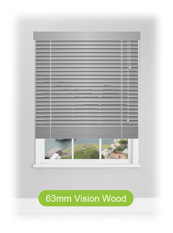 63mm Visionwood Venetian Blinds