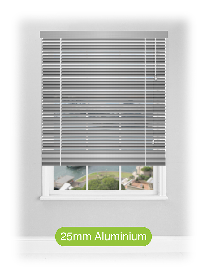 25mm Aluminium Venetian Blinds