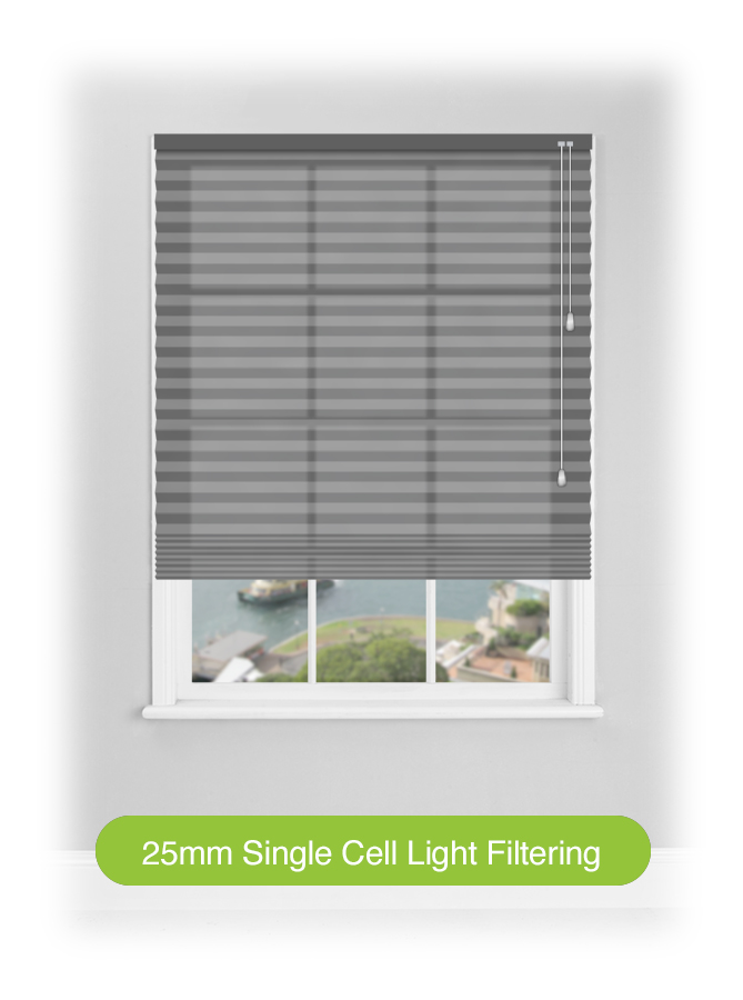 25mm Single Cell Light Filtering