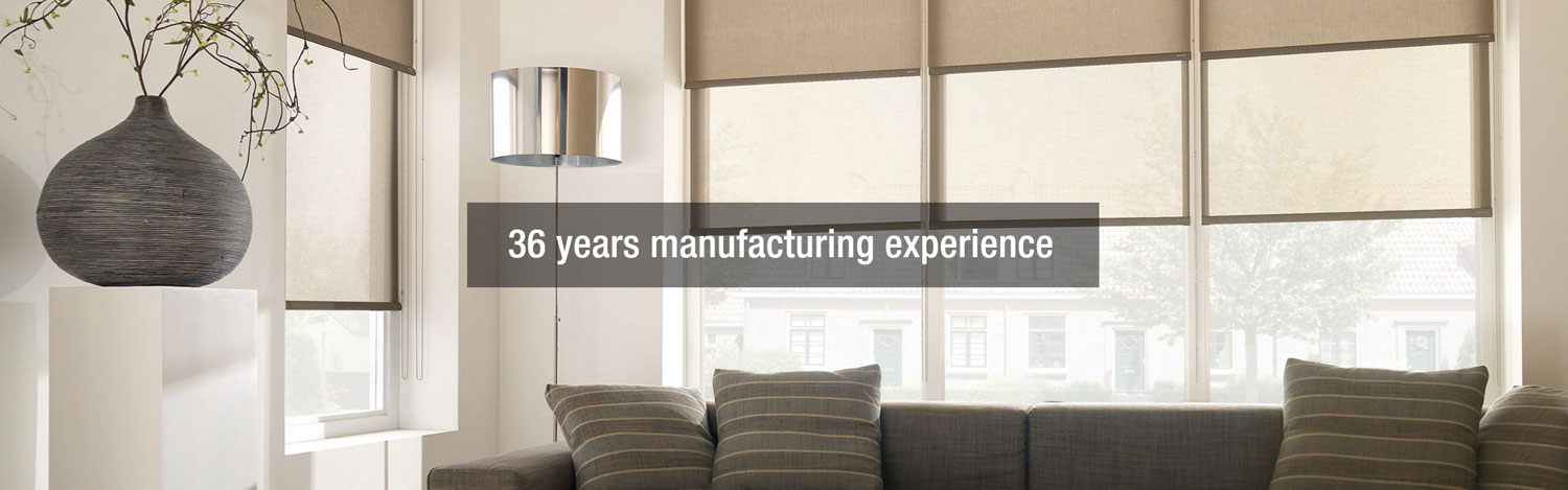 36 years manufacturing experience